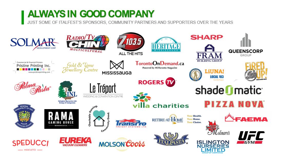 Updated Sponsors